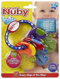 Brand New Nuby Icybite Key Teether 3m+ BPA Free Cool Gel Teething Toy - BumpsieDaisy