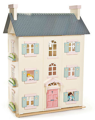 NEW Le Toy Van Cherry Tree Hall Big Wooden Dolls House - BumpsieDaisy