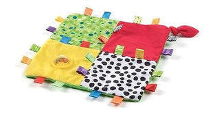 New Playgro Loopy Loops Blankie Rattle Baby Toy 3m+ - BumpsieDaisy