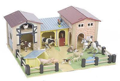Brand New Le Toy Van The Farmyard Farm Wooden Toy - BumpsieDaisy