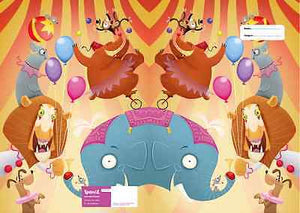 Spencil Circus A4 School Book Cover