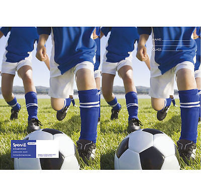 Spencil Soccer Football Exercise School Book Cover A5