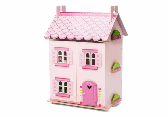NEW Le Toy Van My First Dream Wooden Dolls House & Furniture Included - BumpsieDaisy