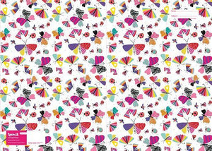 Spencil Flutter Butterflies A4 School Book Cover