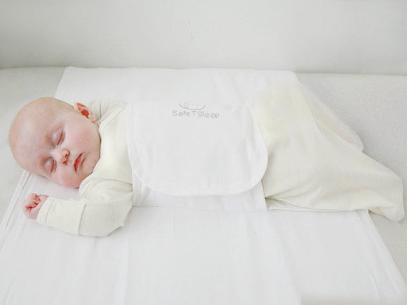 Brand NEW Safe T Sleep Sleepwrap Classic Baby Safety Sleep Positioner - BumpsieDaisy