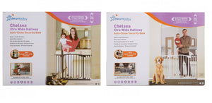 New Dreambaby Chelsea Extra Wide Swing Closed Hallway Baby Pet Safety Gate Dream - BumpsieDaisy