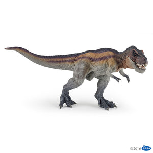 New Design Papo Running T-Rex Tyrannosaurus Rex Dinosaur Model 55057 Moving Jaw - BumpsieDaisy