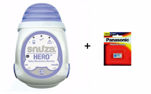 Snuza Hero SE Baby Movement Breathing Monitor + replacement battery options - BumpsieDaisy