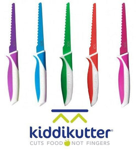 NEW KiddiKutter Cuts Food Not Fingers Childrens Kids Safety Knife Kiddi Kutter - BumpsieDaisy