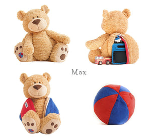 New Buddy Balls Super Soft Buddy & Toss-able Ball with secret compartment Max - BumpsieDaisy