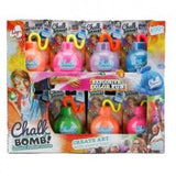 NEW Chalkie Chalk Outdoor Powder Bomb Explosive Colour Fun 200+ Throws - BumpsieDaisy
