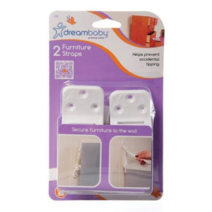 Brand New Dreambaby Furniture Wall Straps 2PK Baby Safety Dream - BumpsieDaisy