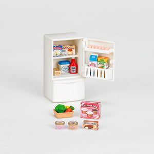 NEW Sylvanian Families Refrigerator Fridge Set 5021 - BumpsieDaisy