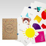 NEW Rhicreative Card Games for Kids 20 Pictures 40 Cards 5 Games Snap Fish &more - BumpsieDaisy