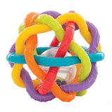 Brand New Playgro Teething Rattle Bendy Ball 6m+ BPA Free - BumpsieDaisy