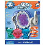 NEW 3D Spinner Machine Make Amazing 3D Creations - Accessory for 3D Magic Maker - BumpsieDaisy