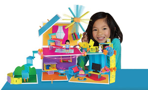 NEW Roominate Chateau Wired Doll House Building Toy 131 Piece Set - BumpsieDaisy