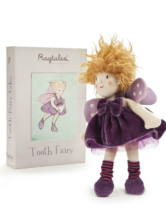 New Ragtales Tooth Fairy Girl Doll Soft Toy in Storage Gift Box 0m+ - BumpsieDaisy