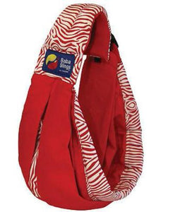 Baba Sling Baby Carrier Boutique Red Tiger - BumpsieDaisy