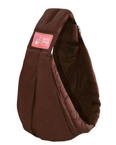 Baba Sling Baby Carrier Standard Choc Brown - BumpsieDaisy