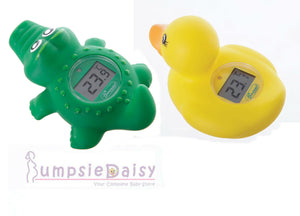 New Dreambaby Bath Room Digital Thermometer Duck /  Croc Baby Safety Dream - BumpsieDaisy