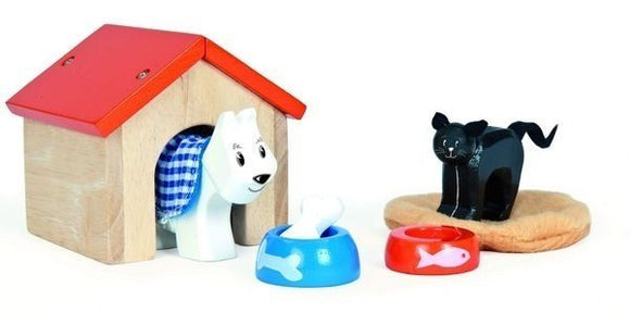 New Le Toy Van Cat & Dog Pet Accessory Set Wooden Toy - BumpsieDaisy
