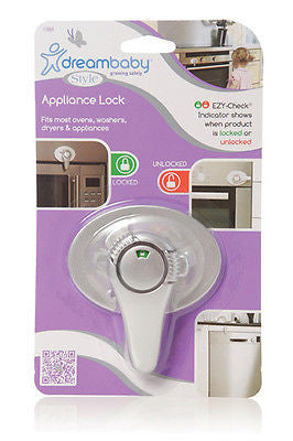 BN Dreambaby Silver EZY-Check Appliance Oven Washer Dryer Baby Safety Lock Dream - BumpsieDaisy