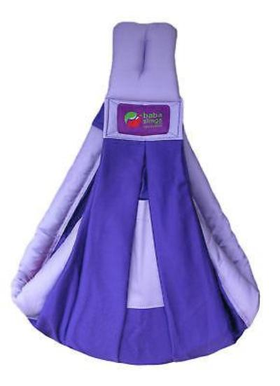 Baba Sling Baby Carrier Two Tone Purple & Lilac - BumpsieDaisy