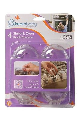 New Dreambaby Stove Oven Knob Covers 4 Pack Baby Toddler Safety Dream Baby - BumpsieDaisy