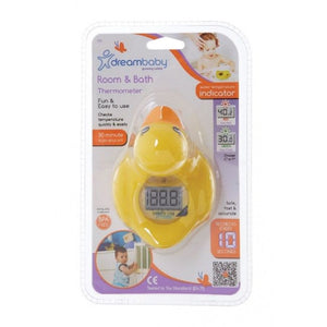 New Dreambaby Bath Room Digital Thermometer Duck Baby Safety Dream - BumpsieDaisy