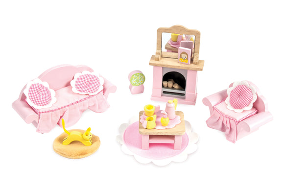 Le Toy Van Daisylane Sitting Room Doll House Furniture Daisy Lane - BumpsieDaisy