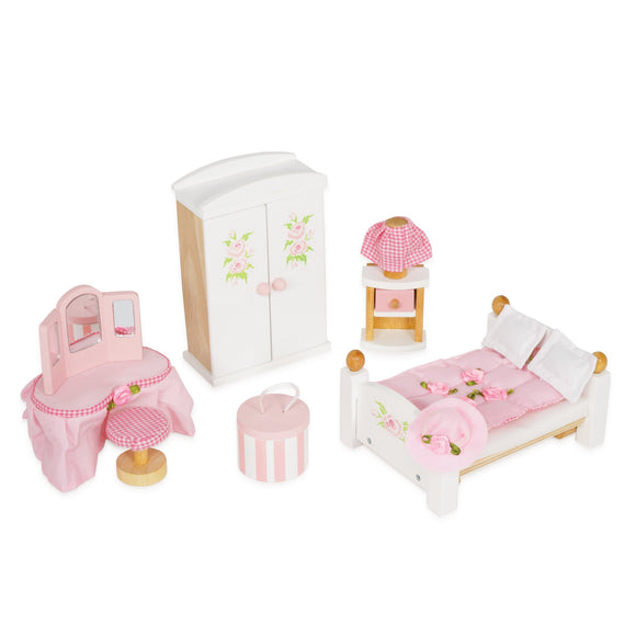 Le Toy Van Daisylane Master Bedroom Doll Furniture Daisy Lane - BumpsieDaisy