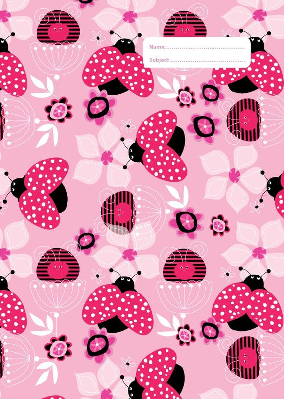 Spencil Lady Bug Ladybug I A4 School Book Cover - BumpsieDaisy