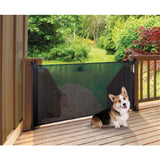 *OFFER* Dreambaby Black Retractable Baby Pet Safety Gate & Spacers 140cm Dream