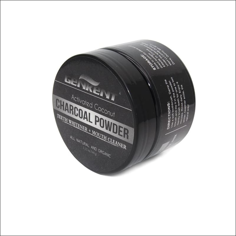 60G 100% Natural Charcoal Whitening Tooth Powder Toothpaste