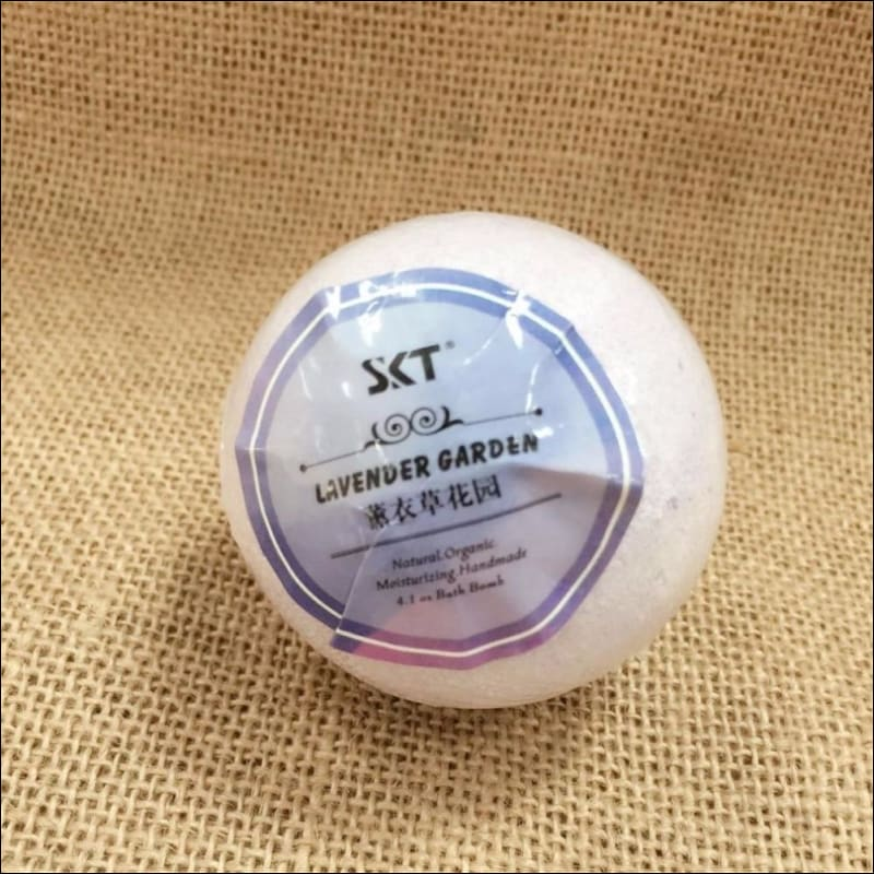 6Pcs/lot Organic Bath Bombs | Bath Salts Ball Essential Oil Handmade For Stress Relief Exfoliating