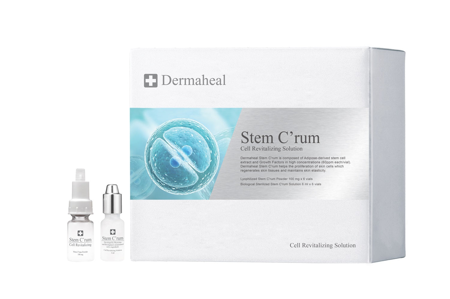 Dermaheal Stem C'rum Cell Revitalizing Solution [7-14 day ship]