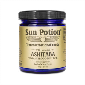 Ashitaba Leaf + Stem Powder 80G.