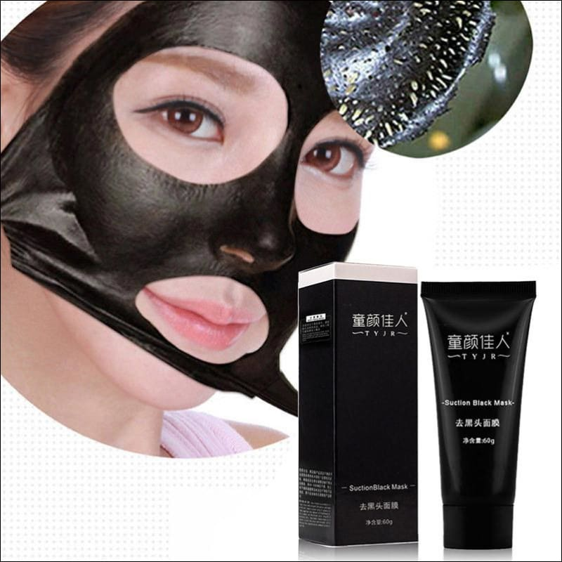 Black Mud Deep Cleansing Purifying Peel Off Face Mask | Removes Blackheads