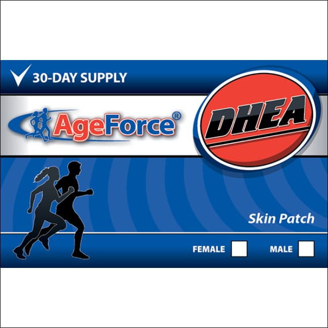 Dhea For Male | Ageforce Dhea Patch