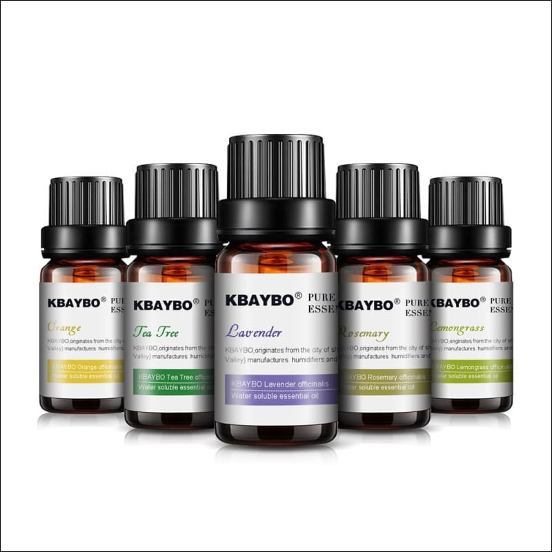 Essential Oil10 Ml For Diffuser Aromatherapy Oil Humidifier | 6 Kinds Fragrance Of Lavender Tea Tree Rosemary Lemongrass Orange
