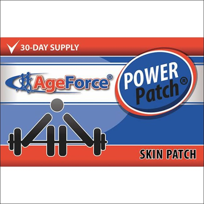 Genuine Hgh Supplement | Ageforce Power Patch - 100% Bonus Offer