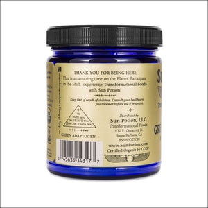 Green Adaptogen Powder Suma Maca Chlorella 111G.