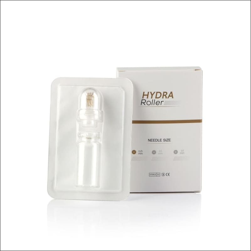 Hydra Needle 20 Microneedle Roller | Therapy & Skin Treatment Mezoroller Anti-Age Cell Regeneration Pore Refining