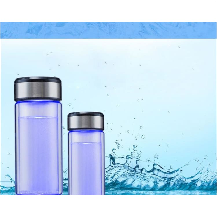 Hydrogen Water Generator Alkaline Maker Rechargeable Portable Water Ionizer Bottle Super Antioxidant Hydrogen-Rich Water Cup
