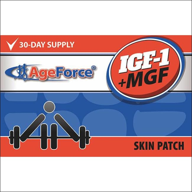 Insulin Growth Factor-1 + Mechano Growth Factor | Ageforce Igf1 + Mgf Patch