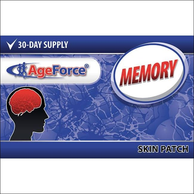 Memory & Focus Nootropic Supplement | Ageforce Memory Patch
