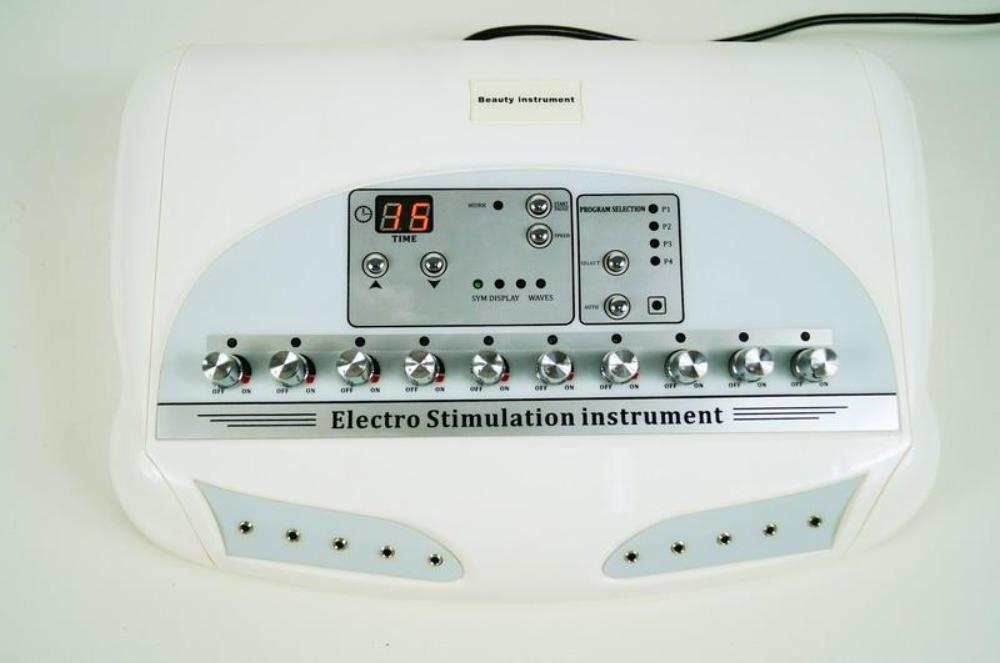 Microcurrent EMS Electric Muscle Body Massager Weight Loss Electro Stimulation Machine [12-20 day ship]