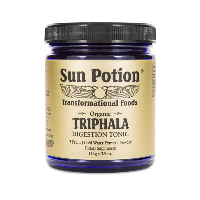 Triphala Fruit Blend (Organic Cold Water Extract Powder) 111G.