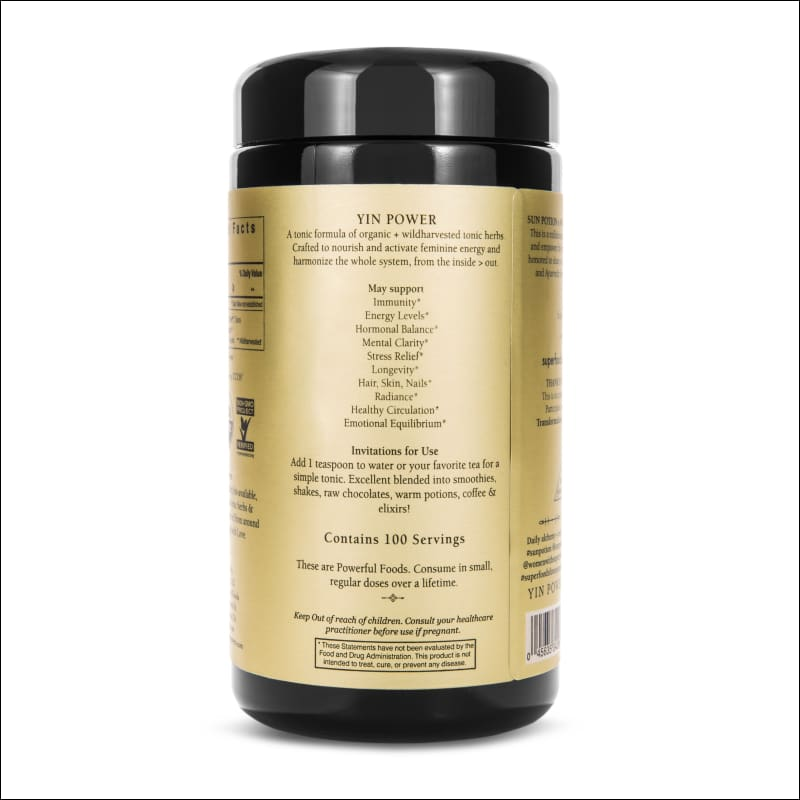 Yin Power | Feminine Herbal Formula 200G.